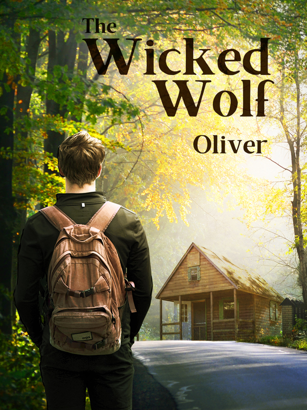 """Couverture """"The Wicked Wolf - Oliver"""""""