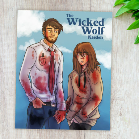 Carte Max et Kaeden - The Wicked Wolf 2020