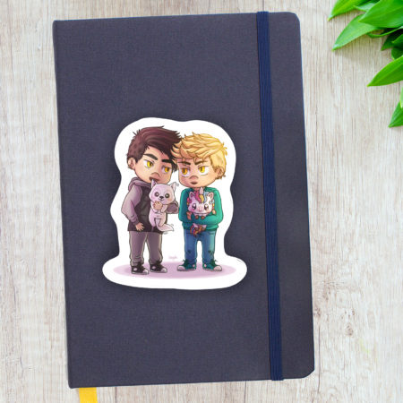 Stickers Edward et Danny - The Wicked Wolf
