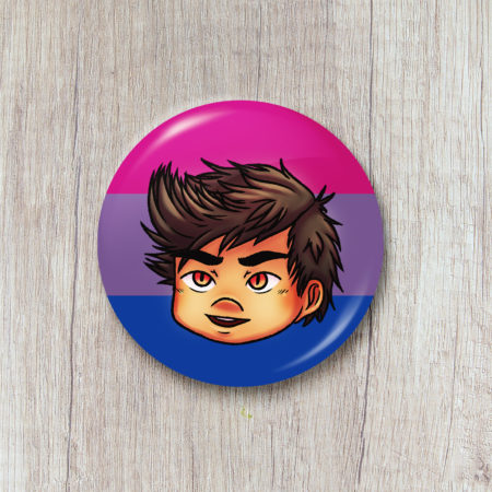 Badge Pride Month - Angelo (The Wicked Wolf)