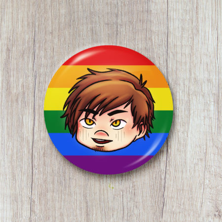 Badge Pride Month - Kaeden (The Wicked Wolf)